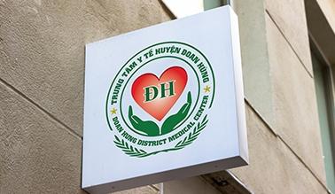 Thiết kế logo thương hiệu bệnh viện đa khoa Đoan Hùng