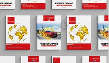 Thiết kế catalogue Dầu nhớt Mỹ