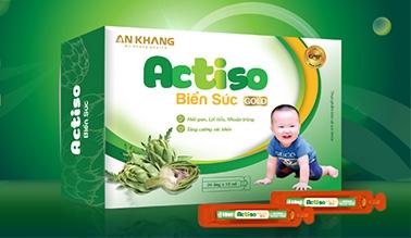 Thiết kế nhãn mác bao bì thực phẩm chức năng ACTISO
