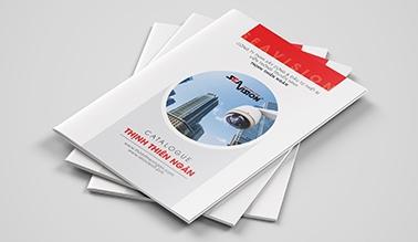 Dự án Thiết kế Catalogue Camera Thịnh Thiên Ngân