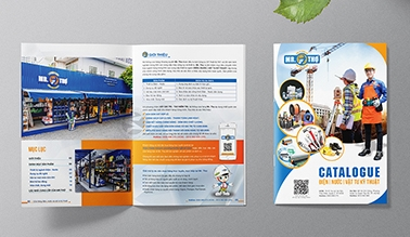 Dự án thiết kế Catalogue MR. Thợ