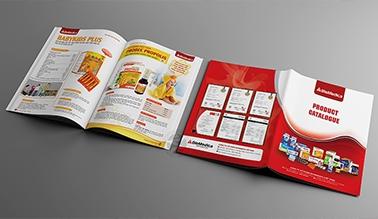 Thiết kế catalogue Dược phẩm BIOMEDICA