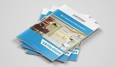 Dự án thiết kế catalogue KATOSUI