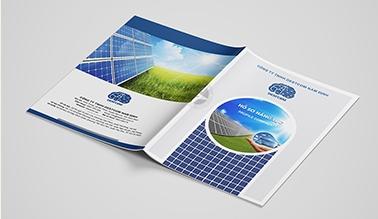 Thiết kế profile năng lượng mặt trời DESTCOM Nam Định