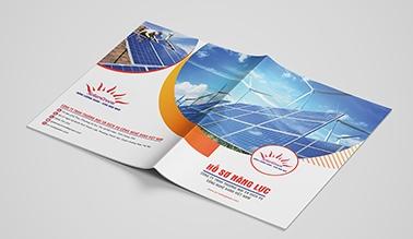 Dự án thiết kế hồ sơ năng lực năng lượng mặt trời SOLAR GREEN