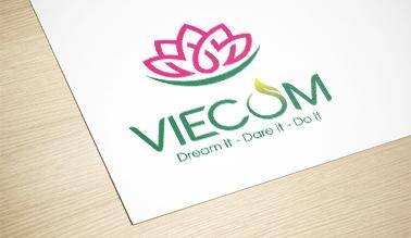 Dự án thiết kế logo thương hiệu VIECOM