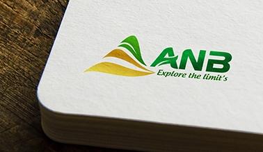Thiết kế logo thương hiệu ANB