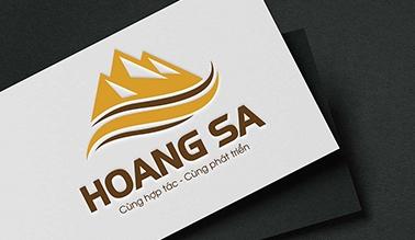 Thiết kế logo Hoàng Sa