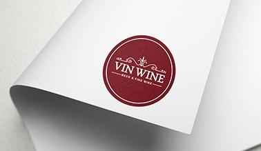 Dự án thiết kế logo rượu VIN WINE