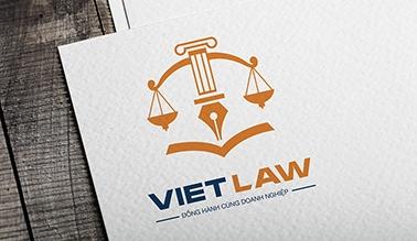 Thiết kế logo thương hiệu VIET LAW