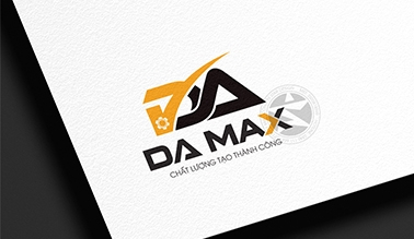 Dự án thiết kế logo thương hiệu cơ khí DA MAX