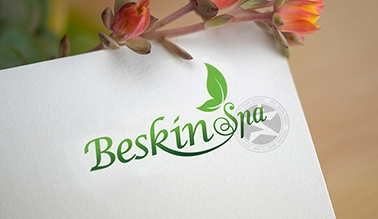Thiết kế logo spa mỹ phẩm Beskin Spa