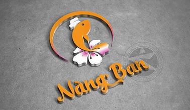 Thiết kế logo thương hiệu Nàng Ban