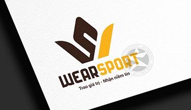 Thiết kế logo thương hiệu WEARSPORT