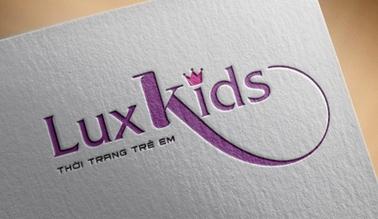 Dự án thiết kế logo thời trang Luxkids