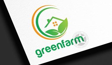 Thiết kế logo thương hiệu GreenFarm