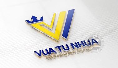 Thiết kế logo cửa hàng đồ gia dụng Vua Tủ Nhựa