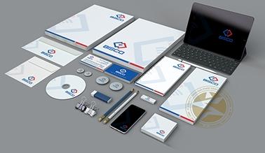 Thiết kế bộ nhận diện thương hiệu cửa tự động BISCO