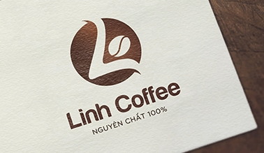 Thiết kế logo Linh coffee
