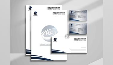 Thiết kế nhận diện thương hiệu HFT Việt Nam