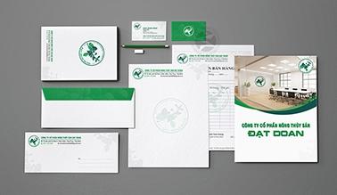 Dự án thiết kế nhận diện thương hiệu ĐẠT DOAN