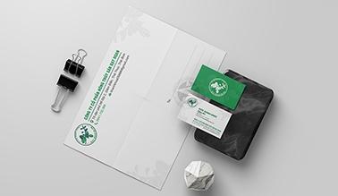 Thiết kế name card, phong bì thư ĐẠT DOAN