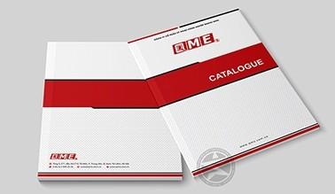 Dự án thiết kế catalogue QME
