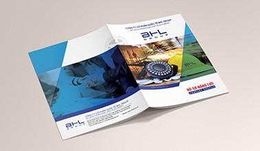 Dự án thiết kế hồ sơ năng lực BHL GROUP