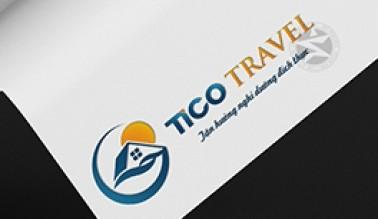 Dự án thiết kế logo du lịch TICO TRAVEL