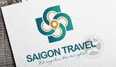 Thiết kế logo nhận diện thương hiệu Sài Gòn Travel
