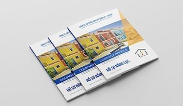 Thiết kế hồ sơ năng lực sơn xây dựng PT Hà Nội