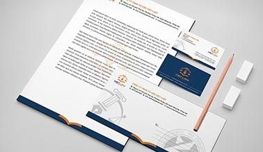 Thiết kế nhận diện thương hiệu Luật VIET LAW