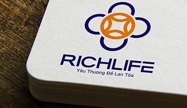 Thiết kế logo thương hiệu RICHLIFE