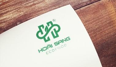 Thiết kế logo thương hiệu HOÀI SANG ECOFOOD