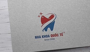 Thiết kế logo Nha Khoa Quốc Tế