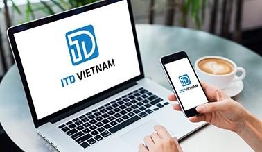Thiết kế logo nhận diện ITD Việt Nam