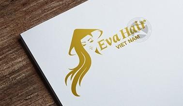 Thiết kế logo thương hiệu Salon EVA HAIR Việt Nam