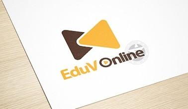 Thiết kế logo thương hiệu truyền thông EDUV ONLINE