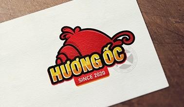 Thiết kế logo thương hiệu Hương Ốc