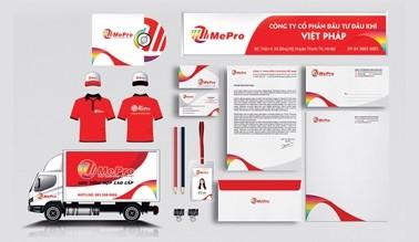 Thiết kế nhận diện thương hiệu MEPRO