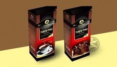 Thiết kế bao bì cà phê Linh Coffee