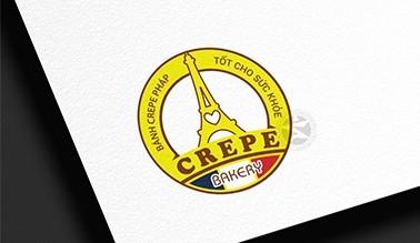 Dự án thiết kế logo BÁNH CREPE PHÁP