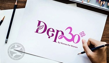 Thiết kế logo Thẩm mỹ viện Đẹp 30+